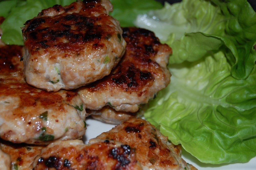 Homemade Turkey and Chicken Sausage Patties