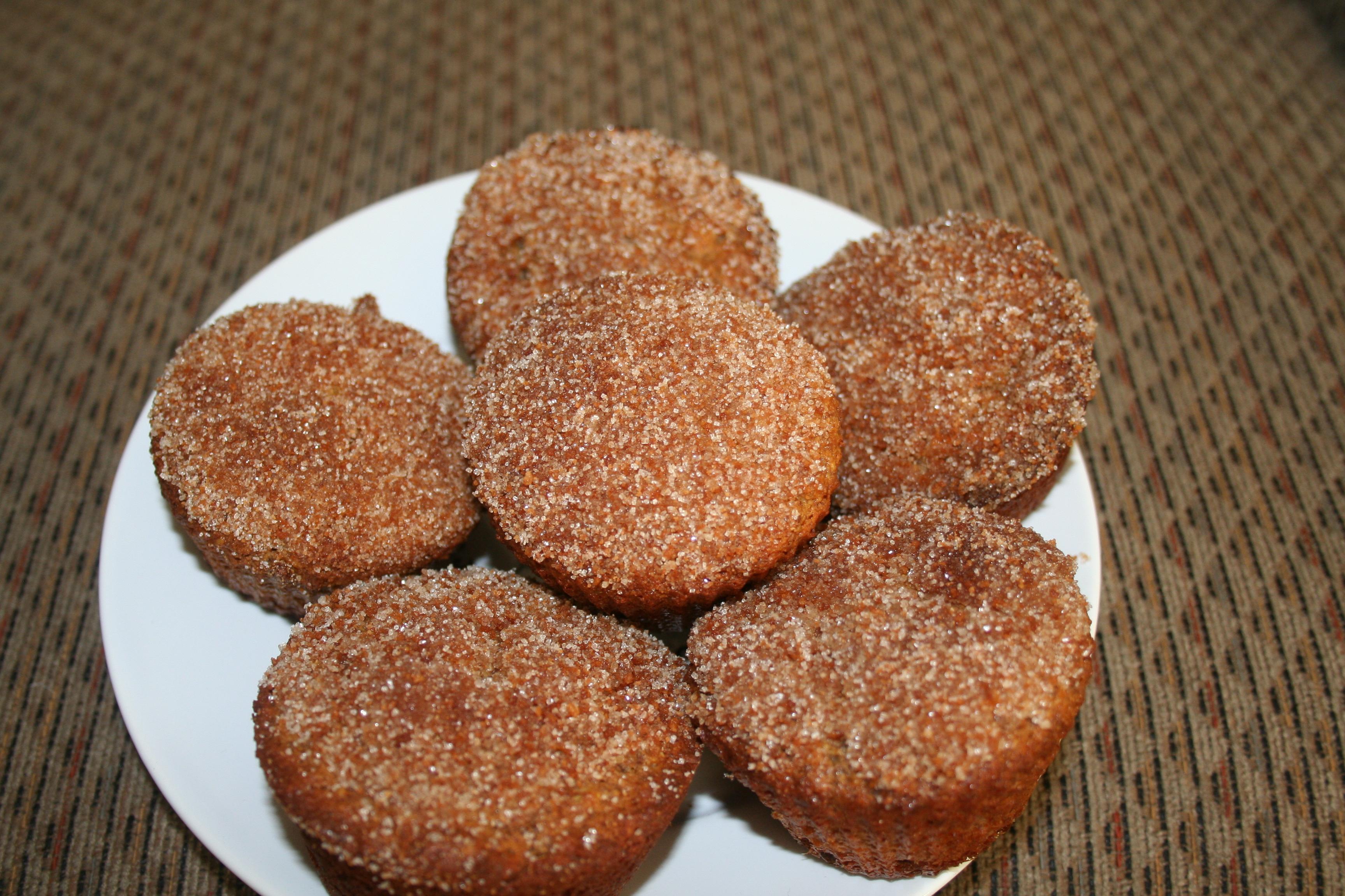 Cinnamon Sugar Gluten Free Donut Muffins | Keely's Kitchen