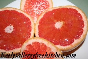 Grapefruit and Raw Honey