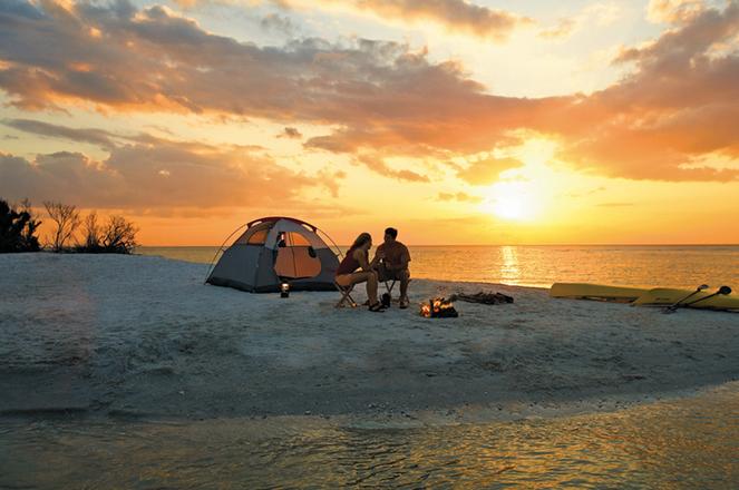 camping healthy